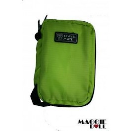 TravelMate Cosmetic Makeup Toiletry Purse Holder Organizer Hanging Wash bag[Green]